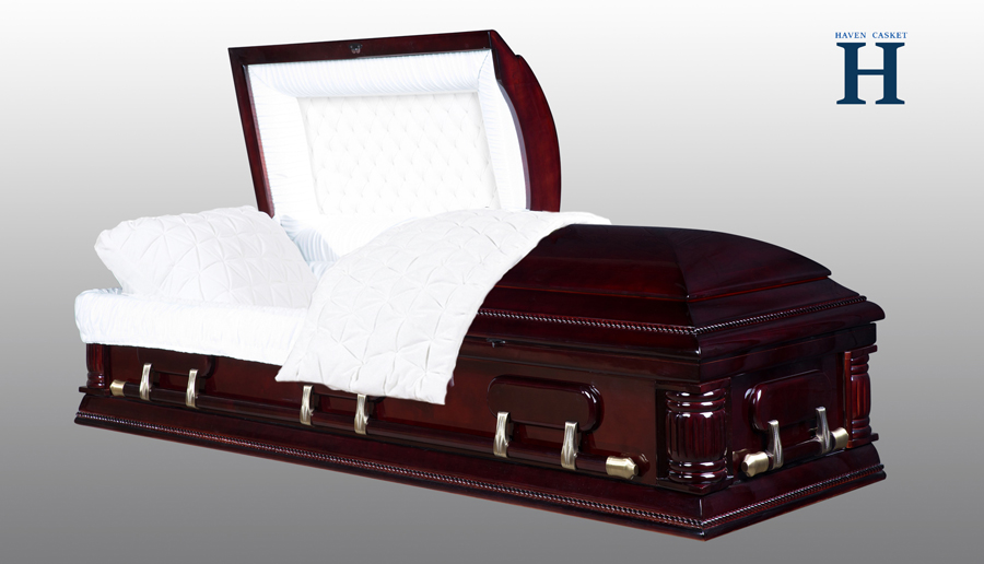 Buckingham Poplar Wood Casket