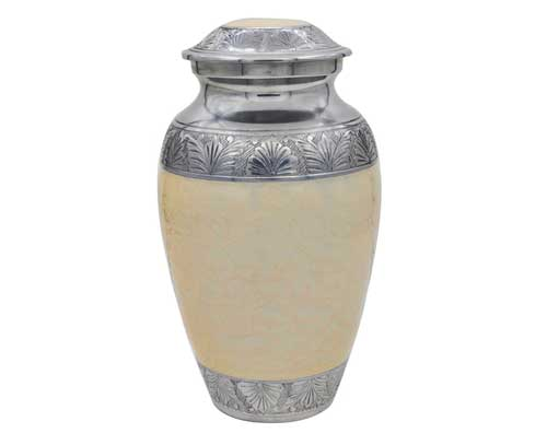 Classic Pearl Metal Urn MU109