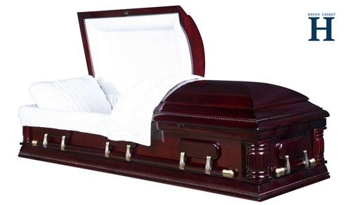 poplar wood casket hw115