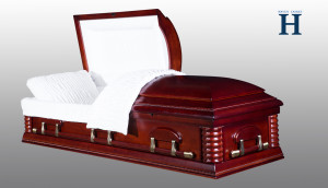 Cherry Wood Casket HW103