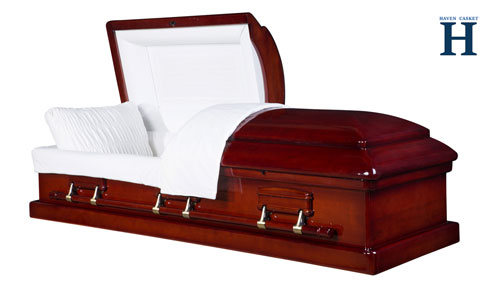imperial mahogany casket hw106