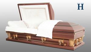 Regal Bronze metal casket MC110