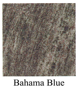Bahama blue granite headstone