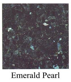 emerald pearl granite headstone