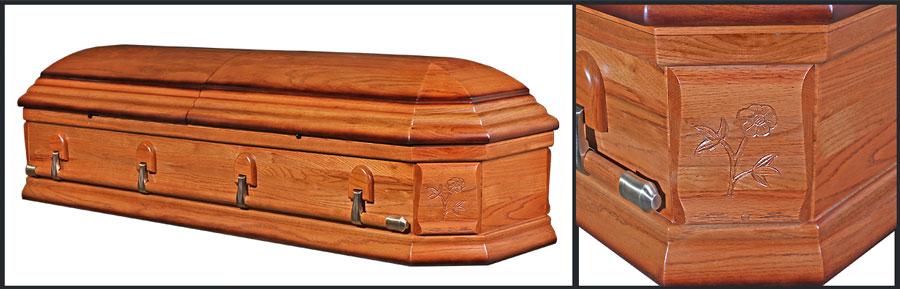Oak Casket HW201