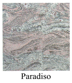 paradiso granite headstones