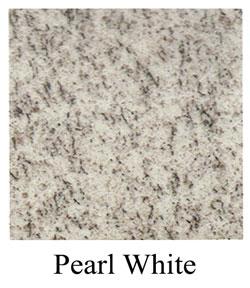 pearl white granite headstones