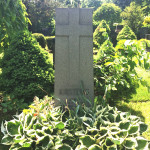 grey granite headstone tall
