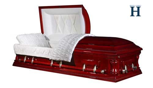 kingston cherry casket