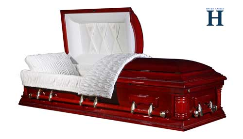 northern cherry casket