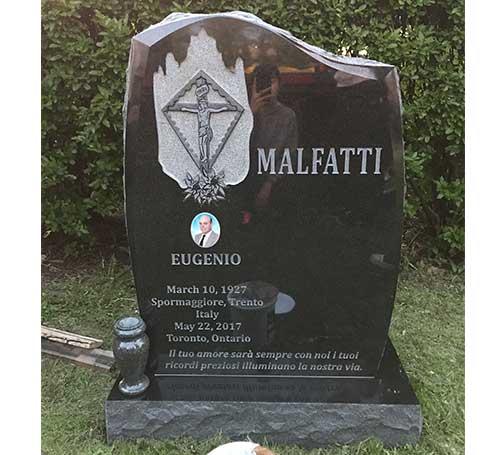 dark brits headstone