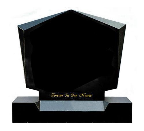 Black Diamond Headstone