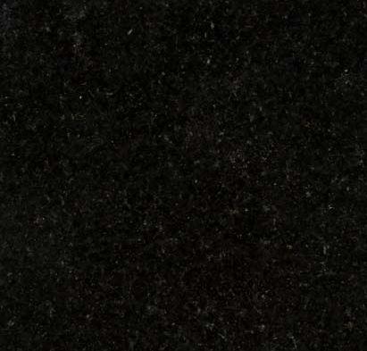 headstones in black granite
