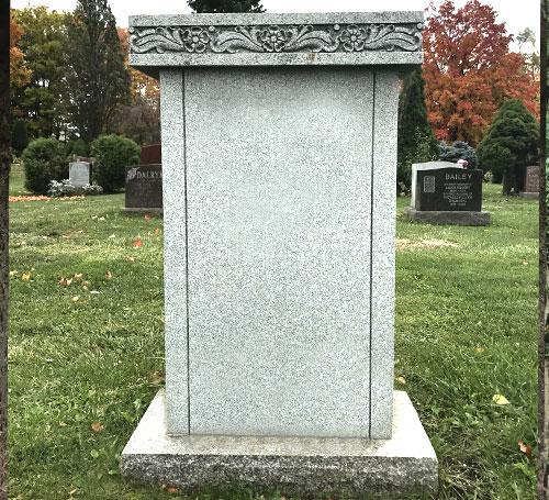 Light Grey Granite Headstones Haven Monuments 75 Off