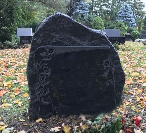 Black Granite Headstones : Headstones black granite quality lowest price