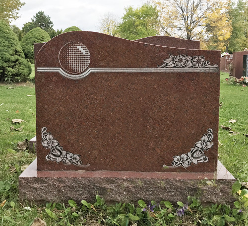 Red Granite Headstones : India red granite headstones haven monuments factory