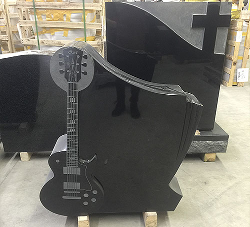 single music headstone