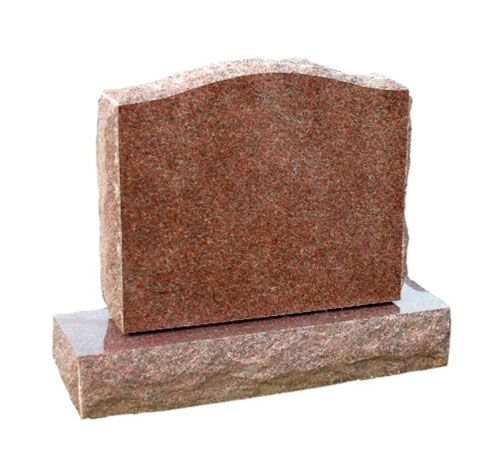 serpentine india red headstone