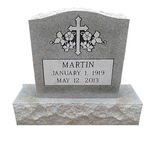 serpentine grey headstone