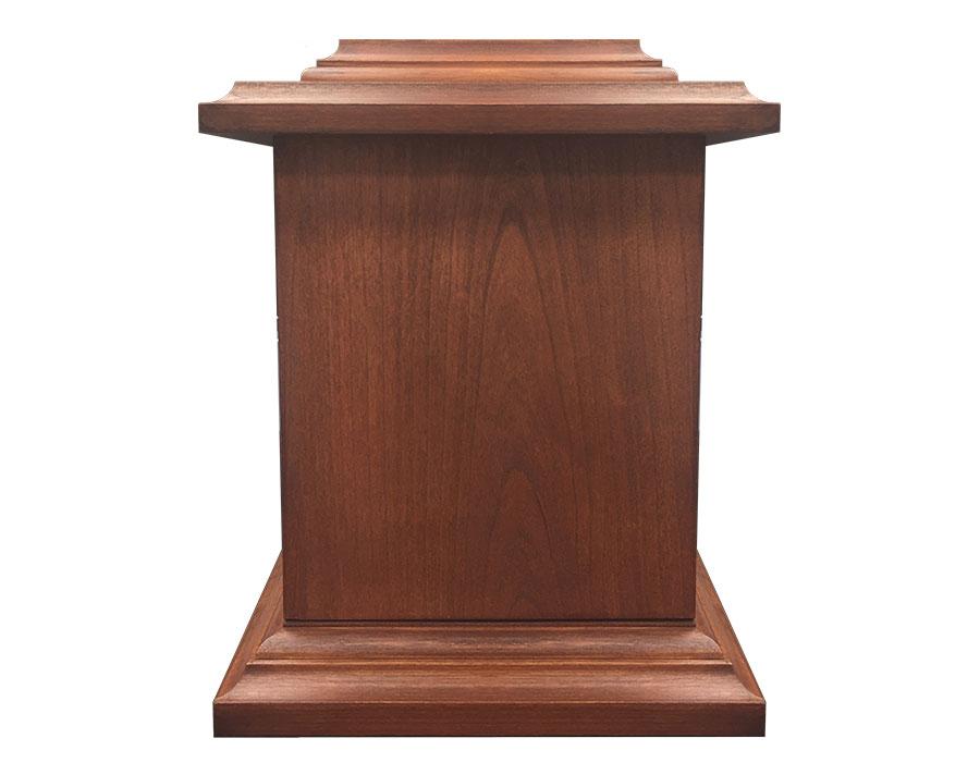 WU201 Cherry Wood Urn