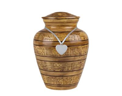 metal urn mu139a