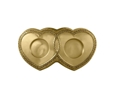 Bronze Heart Base