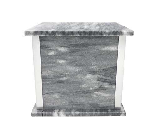 sunny grey marble urn