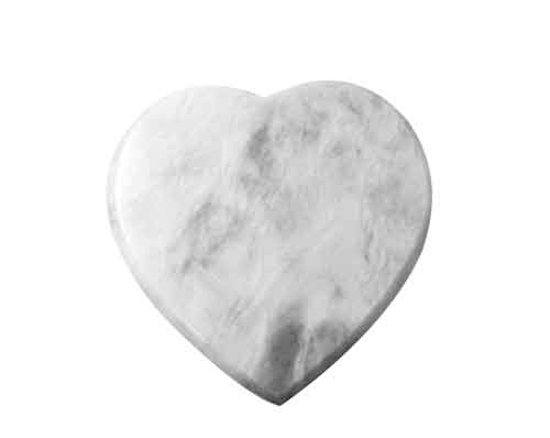 heart marble urn