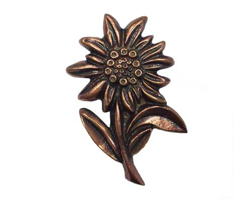 Bronze Flower Ornament UO101
