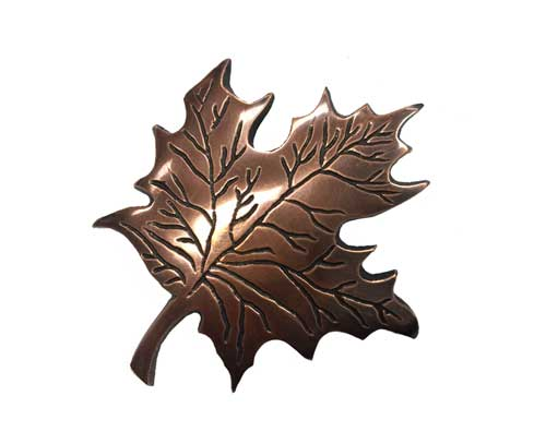 Bronze Maple Leaf Ornament UO108