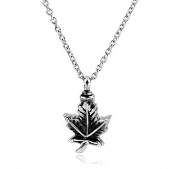 Maple Leaf Stainless Steel Jewelry CMJ109