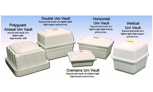 burial urn vaults