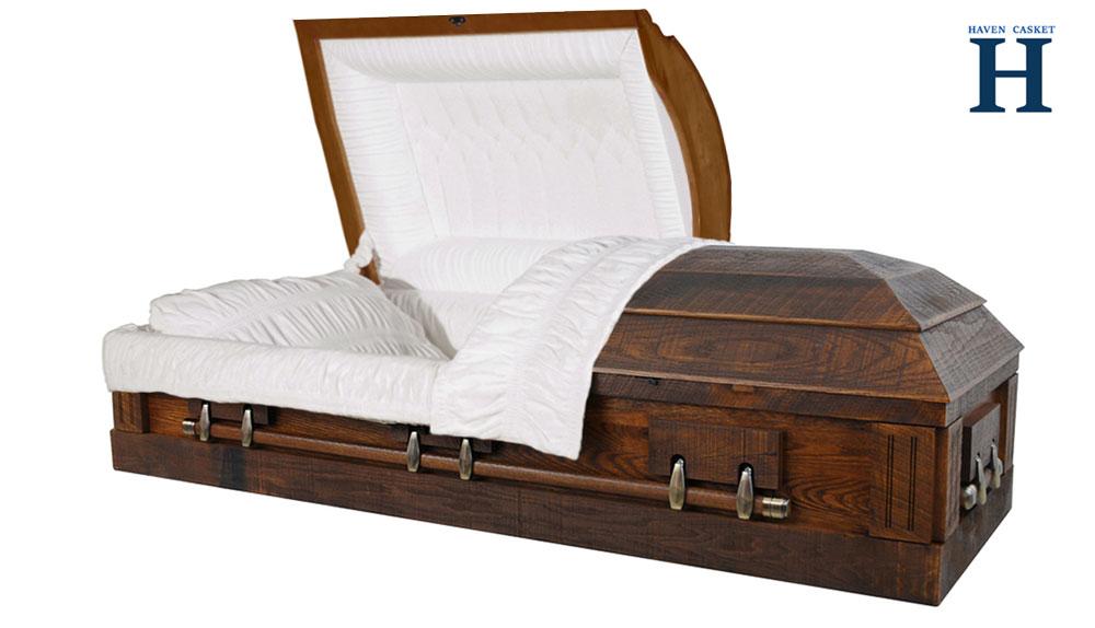 Memory Oak Casket HW301