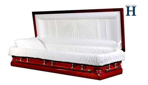 Fcouchpoplar casket