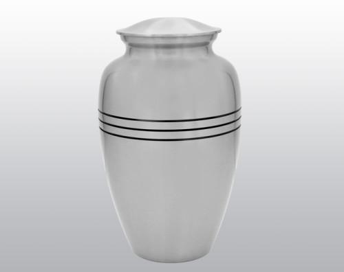Classic Silver Metal Urn MU113