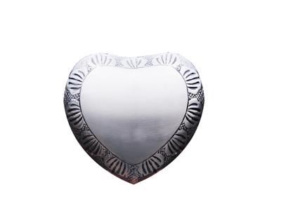 Silver Heart Keepsake MUK109