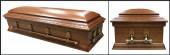 Belmont Poplar Casket HW116 closed casket
