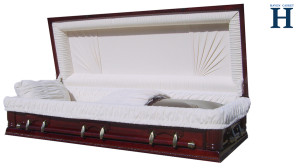 Cherry Wood Casket HW122