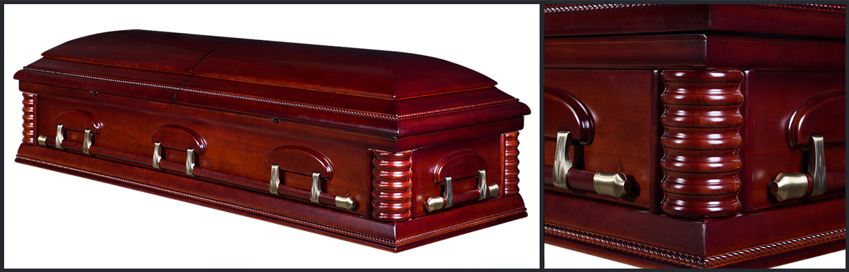 Embassy Cherry Casket Casket Manufacturer Of Wood