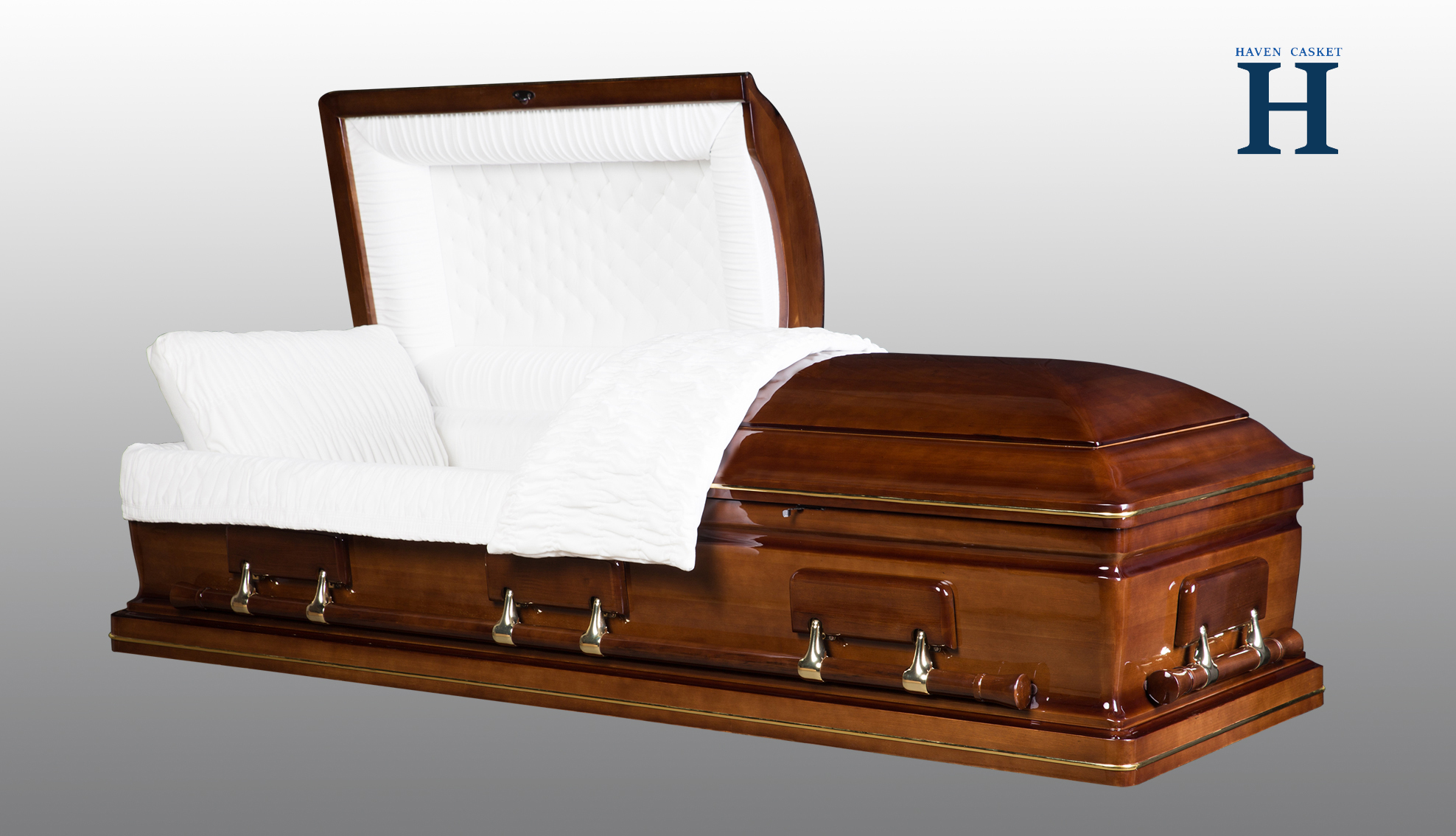 Walnut Wood Casket HW118