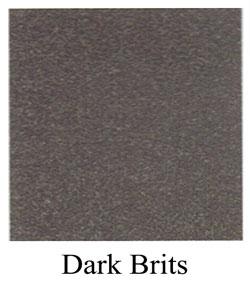 dark brits granite headstone
