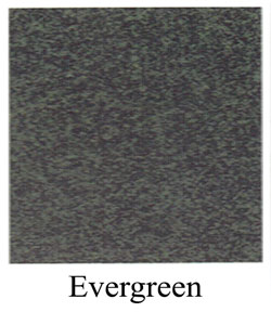 Evergreen granite headstones