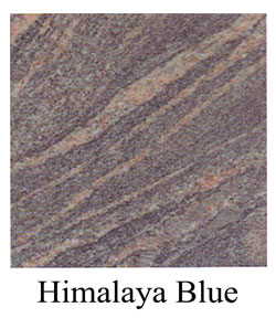 Himalaya Blue granite headstones