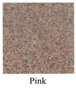 pink granite headstones