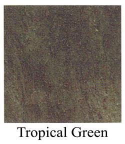 tropical green granite headstones