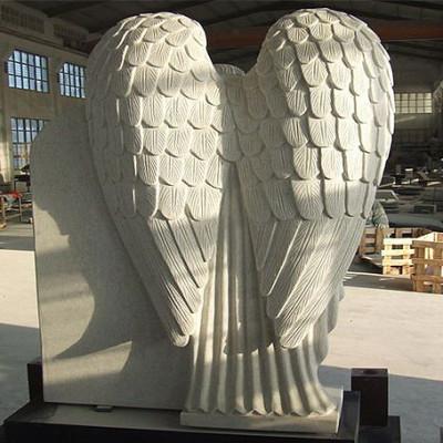 wings of angel headstone
