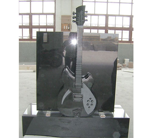 companion guitar headstone