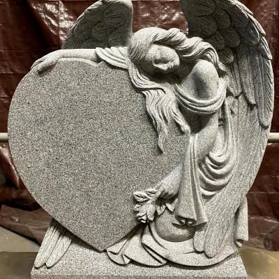 Custom Grey Granite Angel