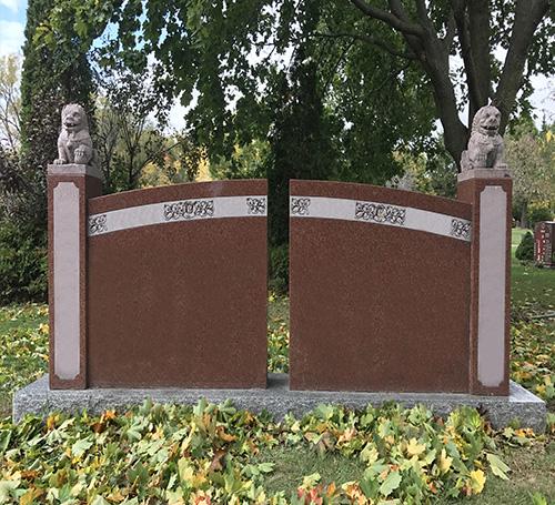 Double-Headstone