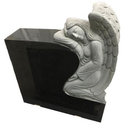 custom headstone angel